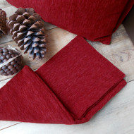 maxilari_kokkino_pillow_ red_40X40