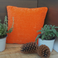 maxilari_portokali_pillow_orange_chenille_40X40