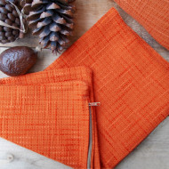 maxilari_vamvakero_portokali_cotton_pillow_orange_42X42