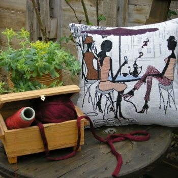 maxilari_yfanto_3girls_tapestry_pillow