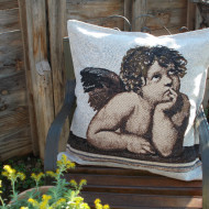 maxilari_yfanto_raffaello_angel_cherubini_tapestry_pillow_50X50